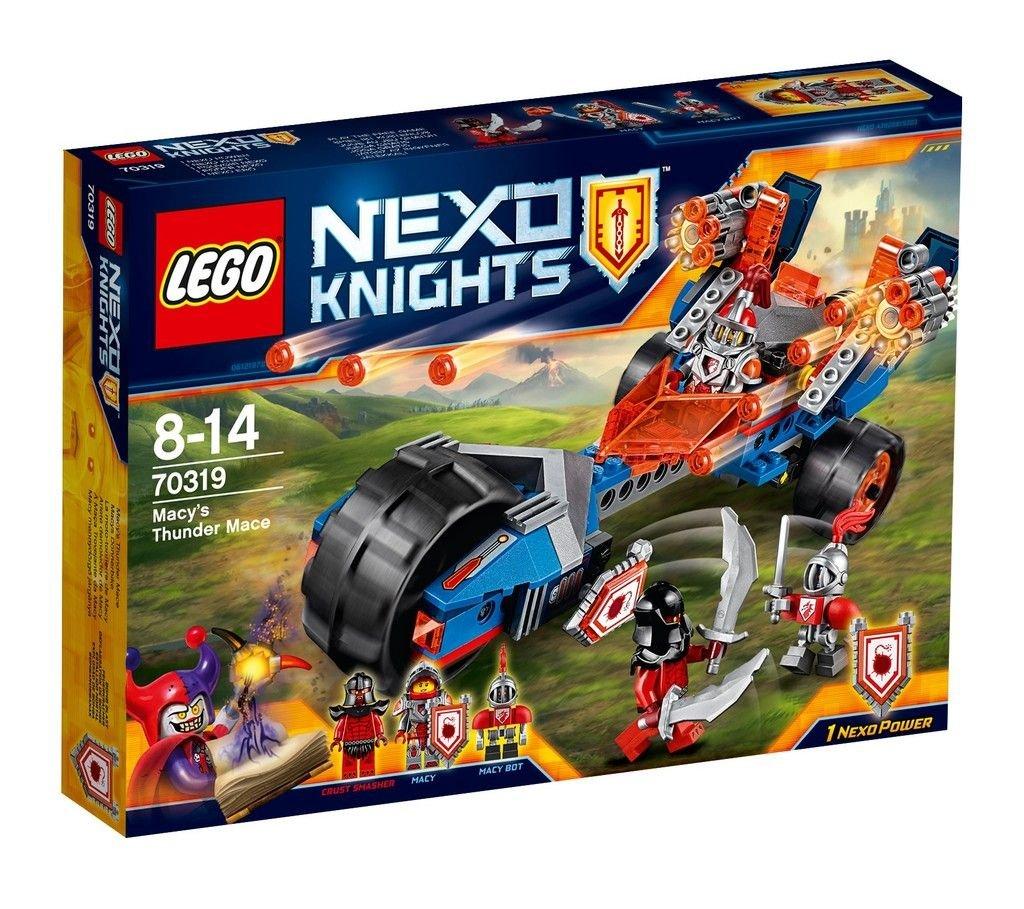Lego 70319 nexo knights macys thunder mace construction set amazon lego 70319 nexo knights macys thunder mace construction set amazon toys games publicscrutiny Choice Image