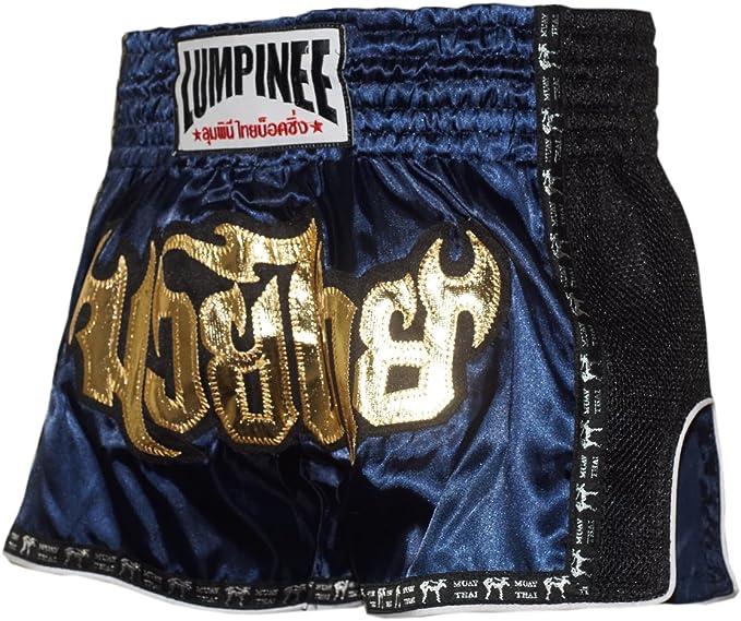 Lumpinee Muay Thai Shorts men women Boxing Shorts Kickboxing Thai Boxing Red 016