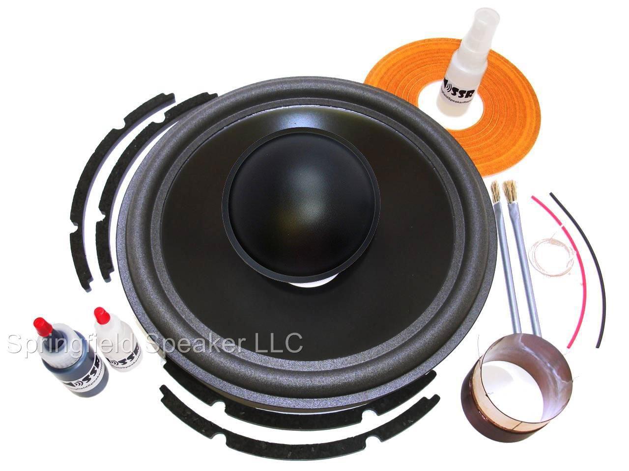 Genuine JL Audio 12W6 Recone Kit + Install Kit - NOT for 12W6v2