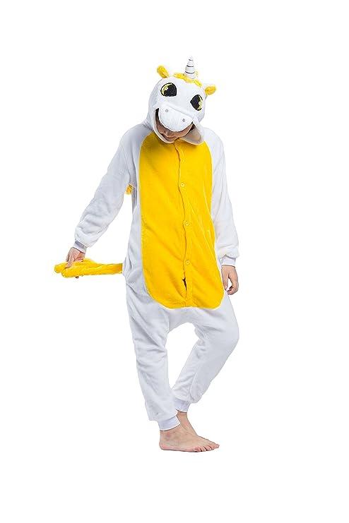 Hstyle Atuendo De Los Niños Unicornio Kigurumi Pijamas De Los Niños Traje De Cosplay Mamelucos: Amazon.es: Ropa y accesorios