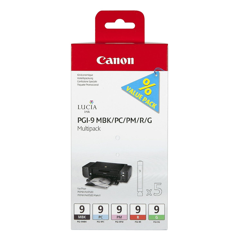 Canon PGI-9 Cartuchos Multipack de tinta original Negro Mate/Foto ...