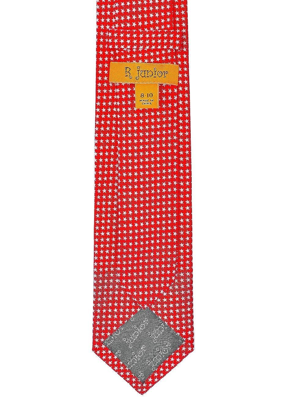 8-10 years Various Colors Retreez Mini Star Pattern Cotton Boys Tie