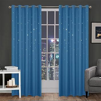 gwell voilage rideau dcoratif pour chambre denfant avec toiles perfores rideau thermo