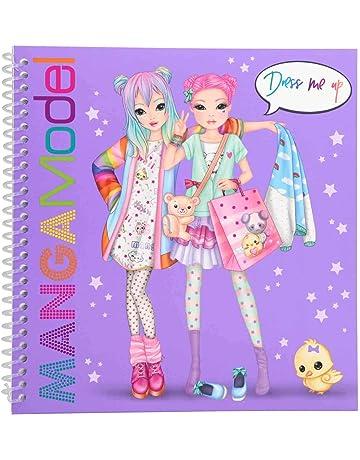 Depesche 6585 Dress Me Up Libro para Colorear con Modelos Manga