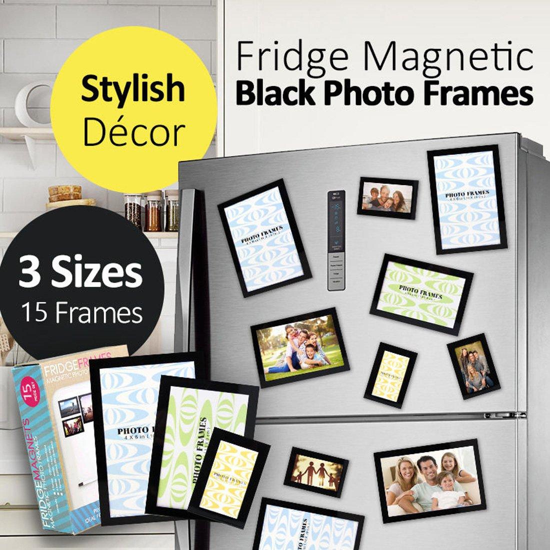 Magnetischer Fotorahmen für Kühlschrank Sicher hält Bild oder ...