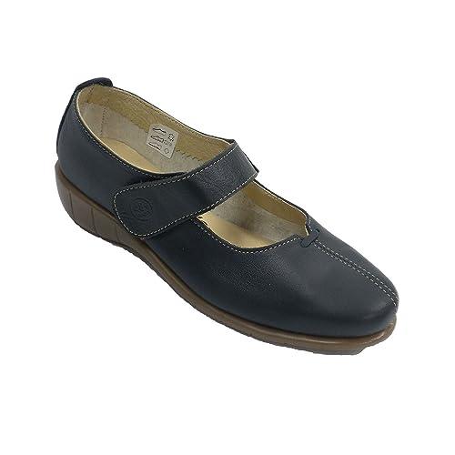 En Mujer Trabilla Con Hours Zapato Azul Merceditas Marino 48 Tipo 0PknwO