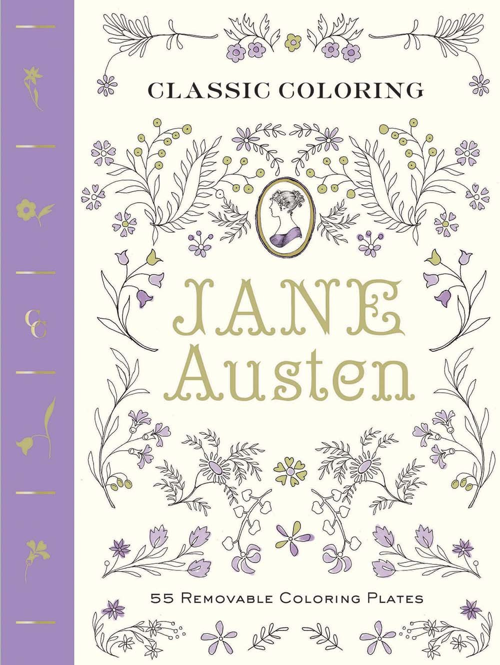 classic coloring jane austen coloring book 55 removable
