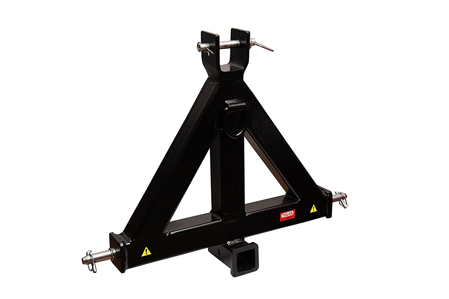 SCITOO Heavy Duty 3 Point 2 inch Receiver Tow Trailer Hitch Category 1 Tractor Drawbar Pull