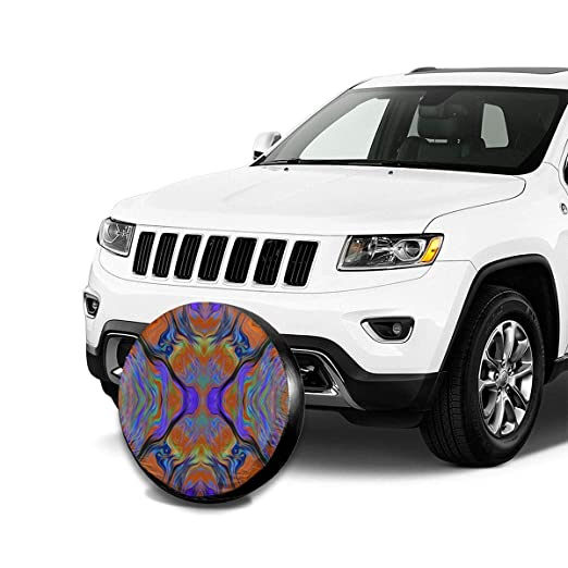 Together Printed Univesal Weatherproof Tire Protectors for Rv SUV Trailer Travel Wheel Cover Accessories 14 Inch Custom Spare Tire Cover for Camper