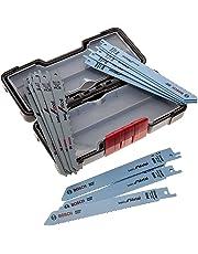 Bosch Professional 2607010901 Professional Säbelsägeblatt Set 1 V, schwarz 15 Stück