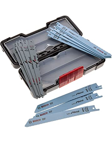 BOSCH 2607010901 - Hoja para sierra de sable: Set ToughBox: BasicWood+Metal: