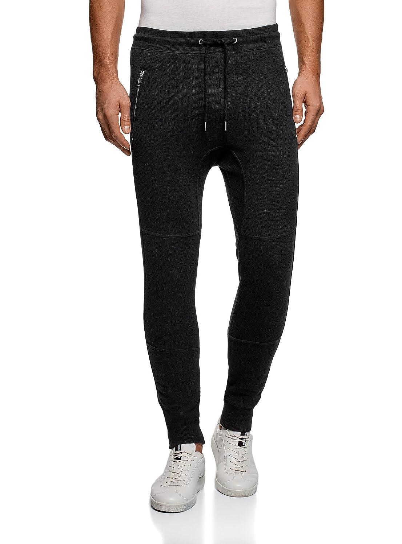 oodji Ultra Uomo Pantaloni in Maglia con Laccetti RIFICZECH s.r.o. 5L200020M