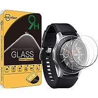 Jasinber 3-Pack Mica Cristal Templado Protector de Pantalla para Samsung Galaxy Watch (46 mm)