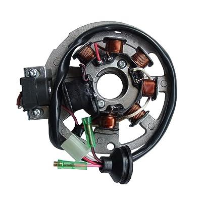 shamofeng Magneto Stator for Polaris ATV Scrambler 90 2001-2003 Sportsman 90 2001-2006 Predator 90 2003-2006 Replaces Polaris 0450523, 0451000: Automotive