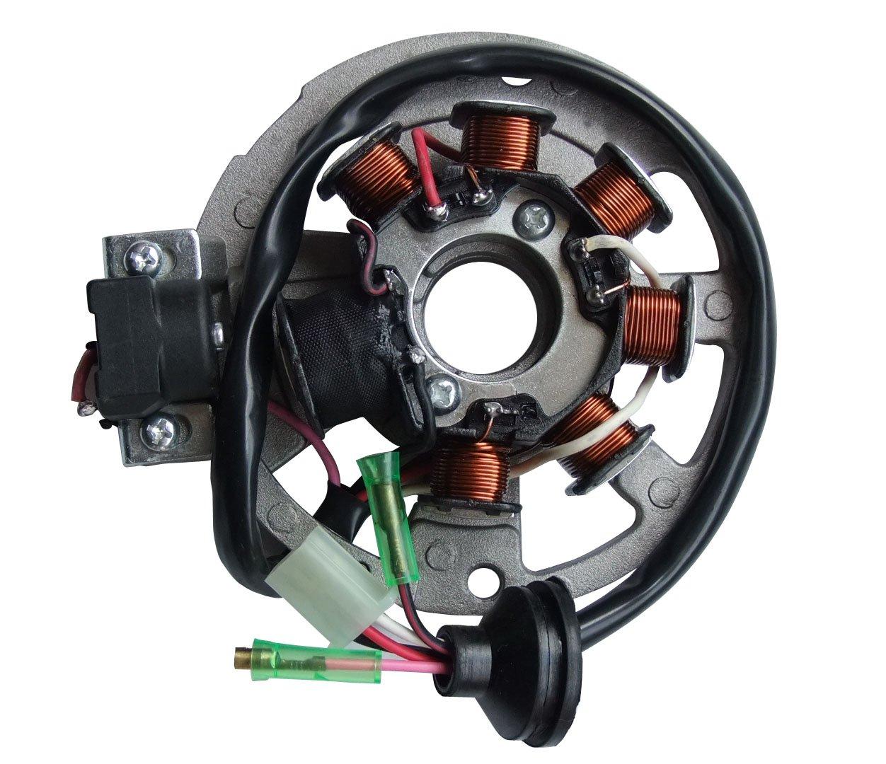 shamofeng Magneto Stator Polaris ATV Scrambler 90 2001-2003 Sportsman 90 2001-2006 Predator 90 2003-2006 Replaces Polaris 0450523, 0451000