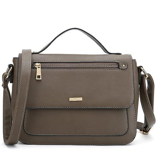 cae2aa7b3c1 Women s Crossbody Purses Popular Cross Shoulder Bags Small Side Handbag  Designer (Coffee)