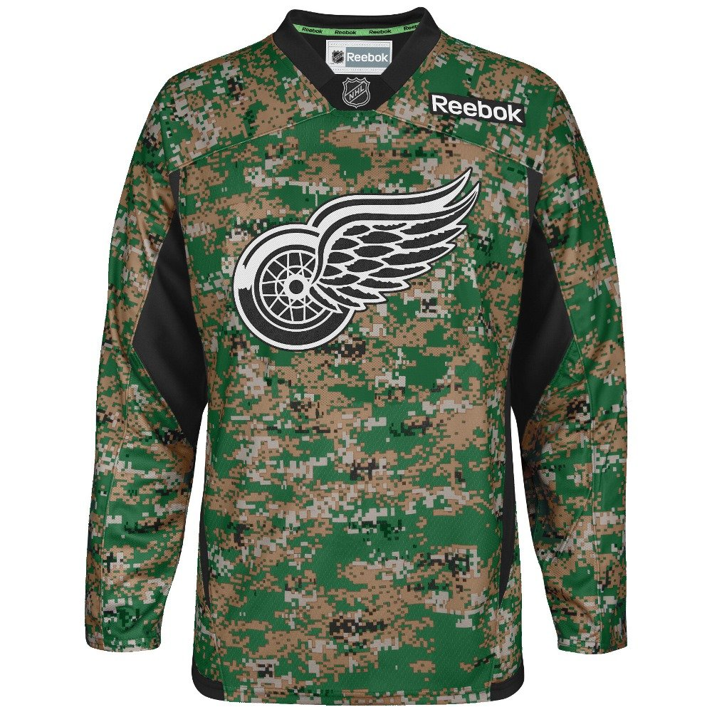 outlet store dd40a a239d reebok detroit red wings youth practice jersey