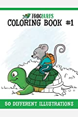 Frogburps Coloring Book #1: A Family Coloring Book (Frogburps Coloring Books) (Volume 1) Paperback