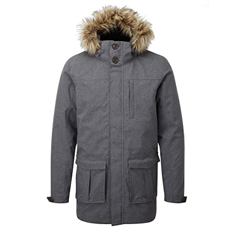 TOG 24 – Kingston Milatex 3 en 1 Chaqueta para Hombre – Gris Marga – Male