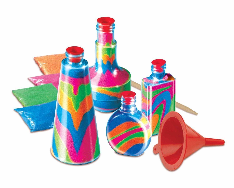 Craft toys for kids - Craft Toys For Kids Childrens Bottle Sand Art Set Kids Make Your Own Activity Craft