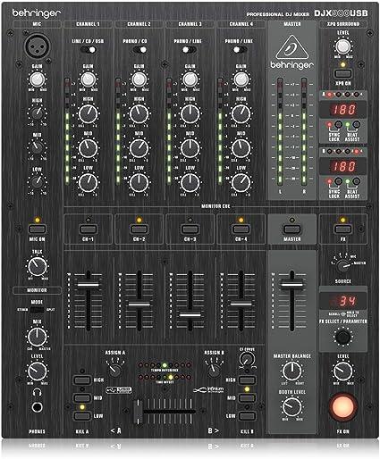 Amazon.com: Behringer Pro Mixer djx900usb: Musical Instruments