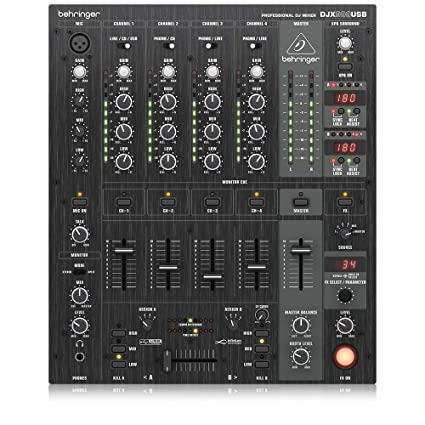 Behringer Pro Djx900usb Table De Mixage Dj Professionnelle Avec Crossfader Vcainterface Audio Usb