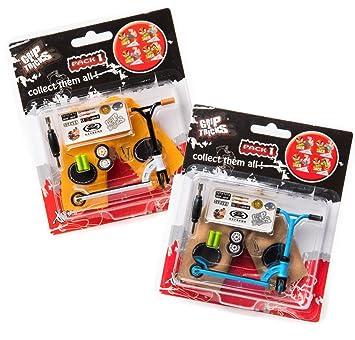 Grip&Tricks - Juguete en Dedo - Lote de 2 Finger Scooter ...