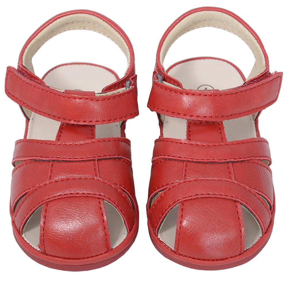 3e44b9c0e6da1 Amazon.com: Angel Red Baby Boys 2 Open Heel Fisherman Spring Summer ...
