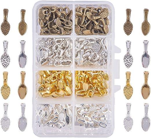 150pcs Tibetan Silver Glue on Bails Pendant Cabochon Jewellery Findings