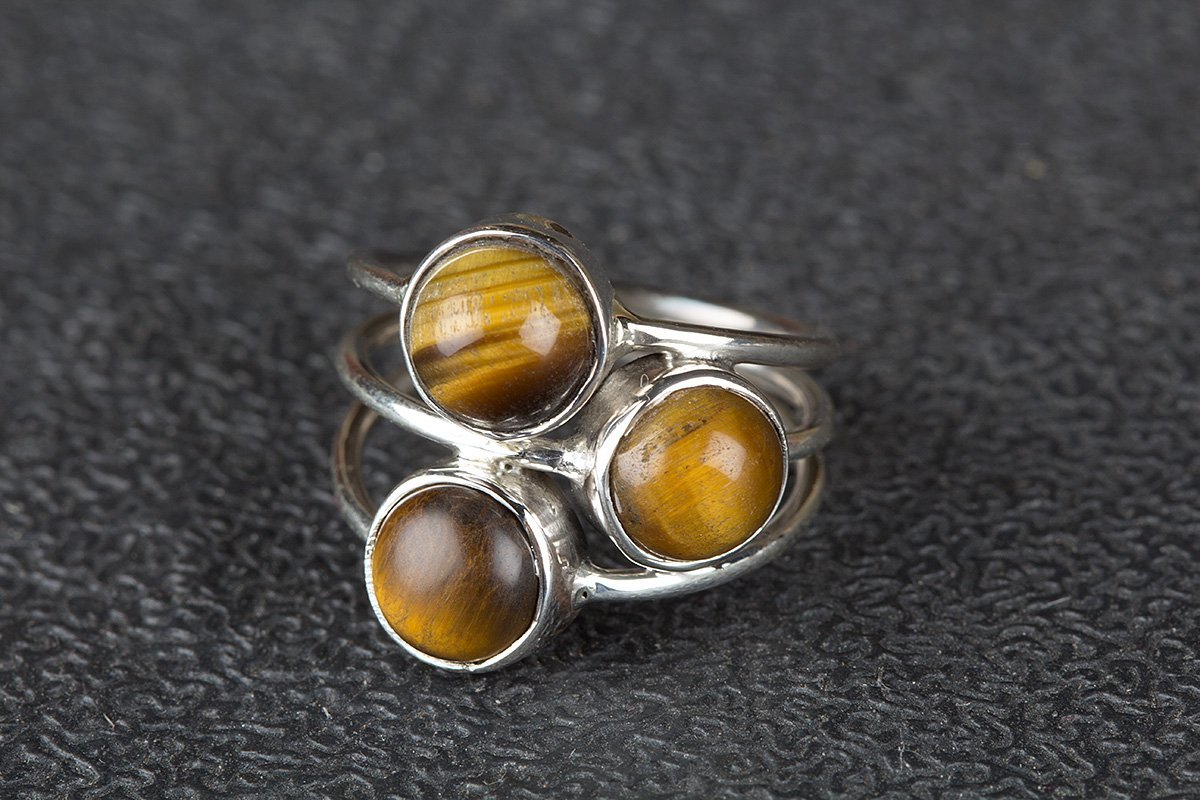 Tiger Eye Ring, 92.5 Sterling Silver Ring, Birthstone Ring, Healing Ring, Stylish Ring, Gorgeous Ring, Graceful Ring, Designer Ring, Delicate Fashion Ring, Trending Ring, Attract Ring, Protection Ring SIZE US 3-15(Standard)