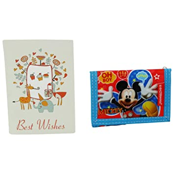 Disney Mickey Mouse Kids Billetera Monedero Bolsillo V ...