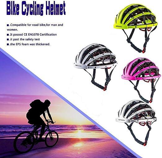 Gotian - Casco Plegable para Bicicleta, Ultraligero, Unisex ...