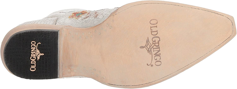 Old Gringo Women's Bonnie Western Boot B078SY3DSM 5.5 B(M) US|Milk