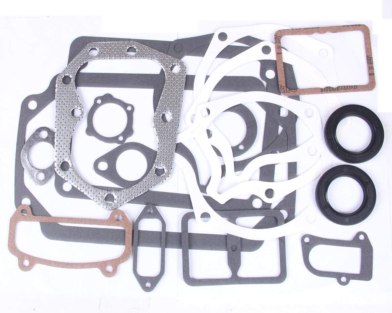 BH-Motor New Gasket Set for Kohler K241 K301 K321 10 12 14 hp Engines Walk Mowers 47 755 08-S