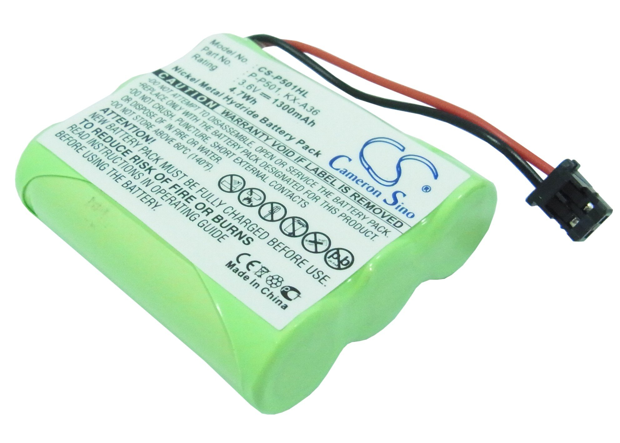 Cameron Sino 1300mAh Replacement Battery for Uniden EXT1160
