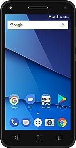 BLU Dash L5 LTE D0090WW Unlocked GSM (AT&T + T-Mobile) Dual-SIM Android Phone - Black