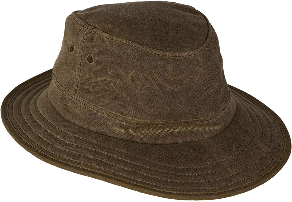 Stormy Kromer The Waxed SK Cruiser - Durable Sun Hat Protection for Outdoor Wear