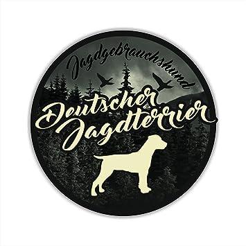 Auto Aufkleber Jagdhund Digi Deutscher Jagdterrier