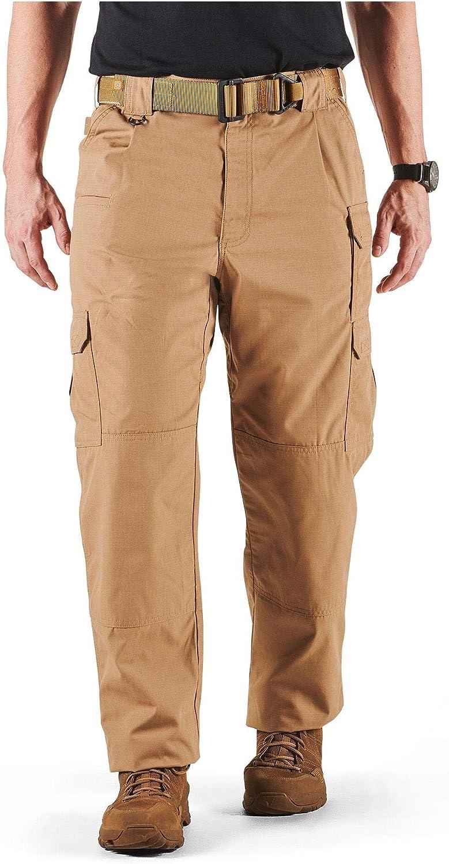 5.11 Men's Taclite Pro Tactical Pants, Style 74273, Coyote, 34Wx30L