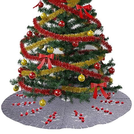 XdiseD9Xsmao Hermoso Delantal De Falda De árbol De Navidad ...