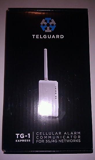 Telguard TG-1 Express LTE-V Primary Residential Communicator Telular TG1LX001