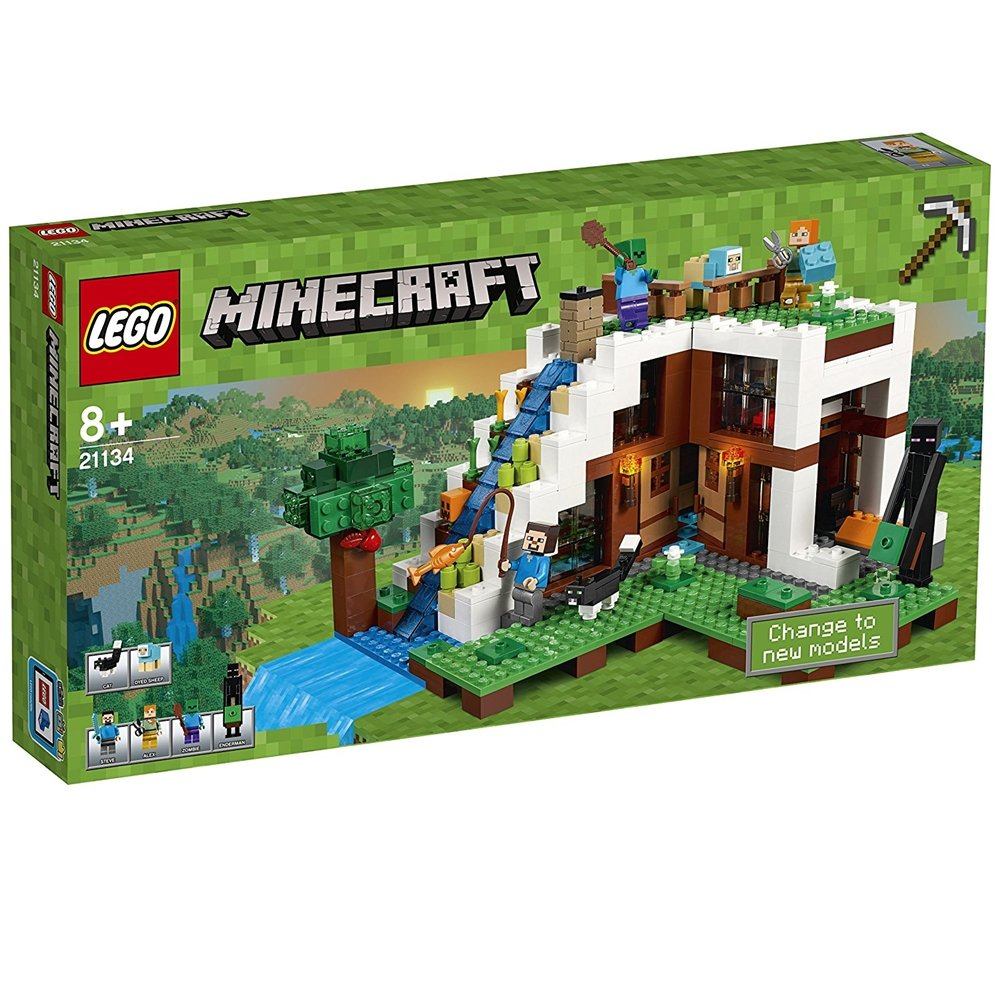 LEGO レゴ マインクラフト Secret Waterfall Escape 滝のふもと 21134 [並行輸入品]   B01N6ONMOV