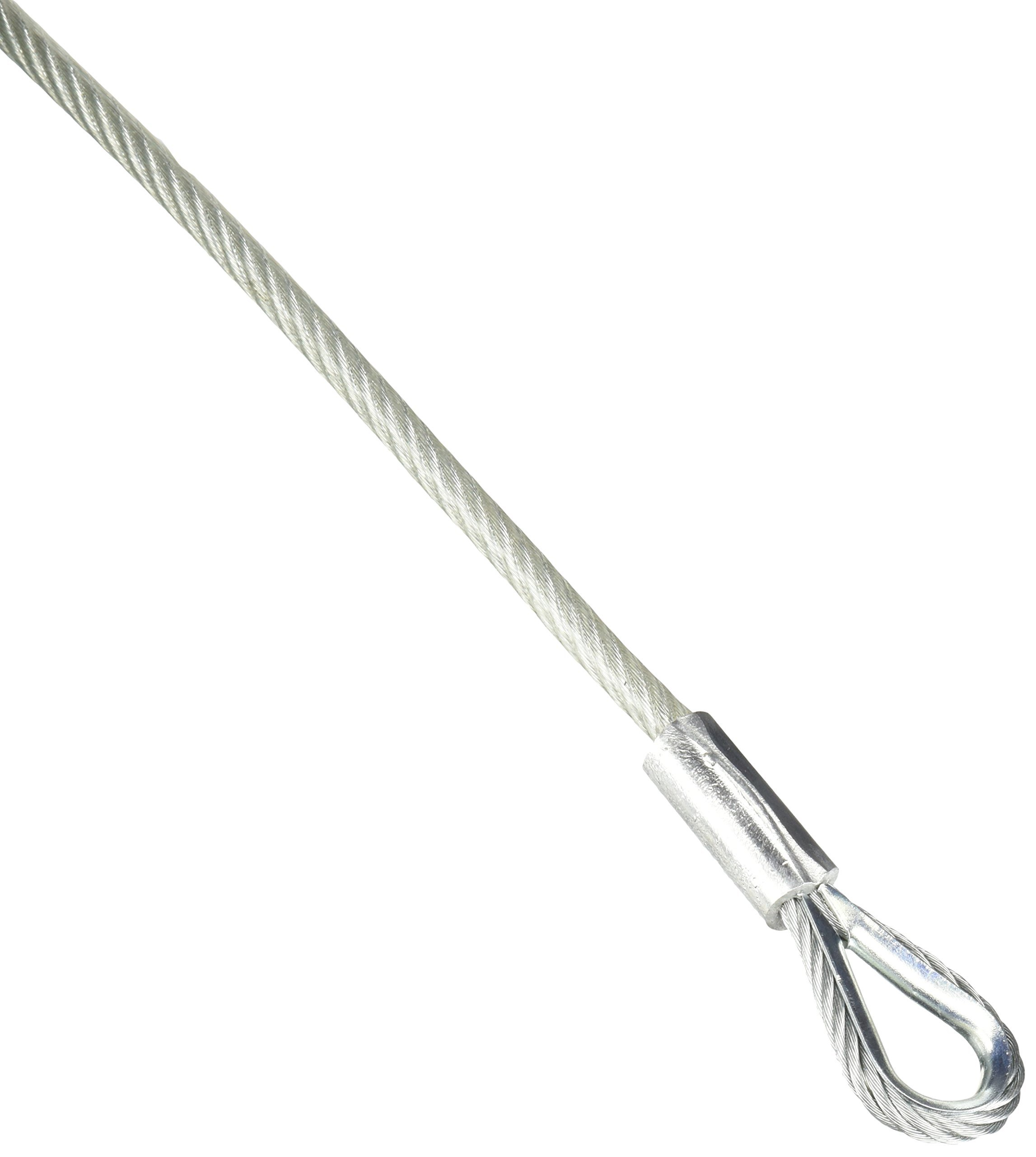 Tie Down Engineering Silver Standard 50235 Galvanized Cable 3/16 ID X 1/4 OD 100 Ft Roll
