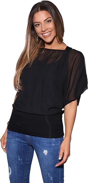Krisp Blusas Camisas Mujer Elegante Grande Top Bonita Fiesta Transparente Juvenil Tallas Grandes Fiesta Moda Amazon Es Ropa Y Accesorios