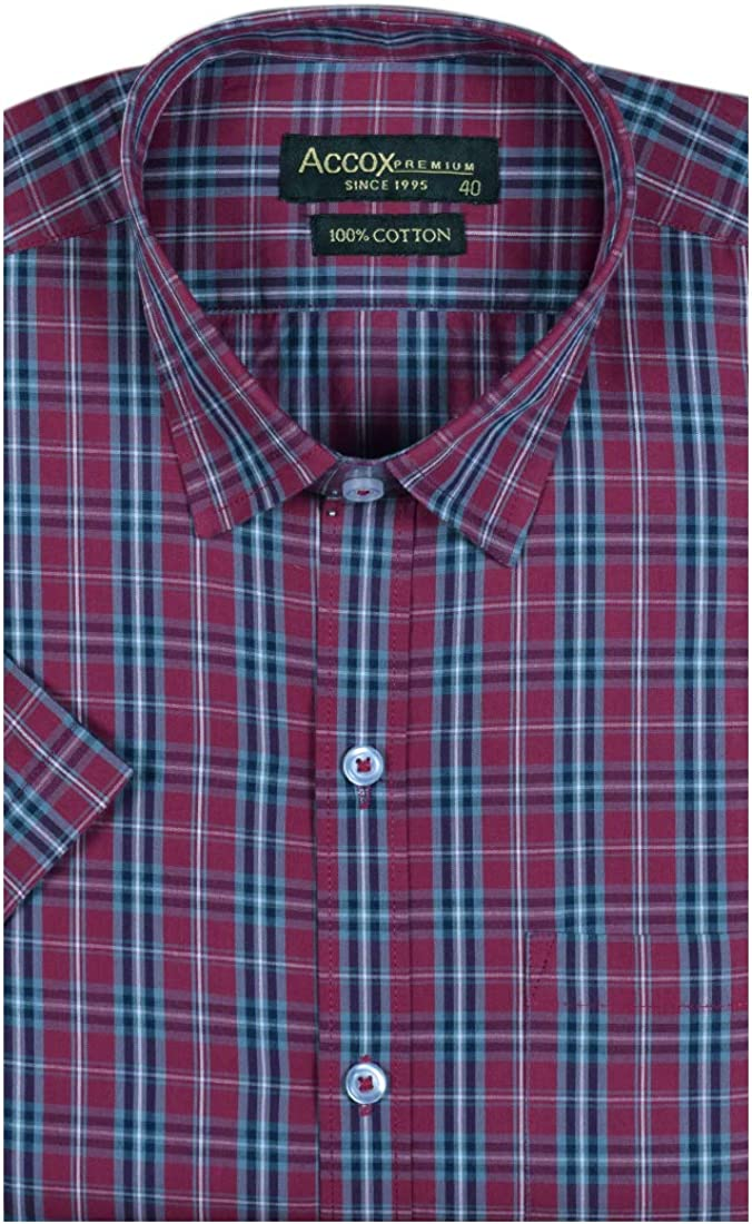 ACCOX Men's Shirt flat 66% off at Amazon