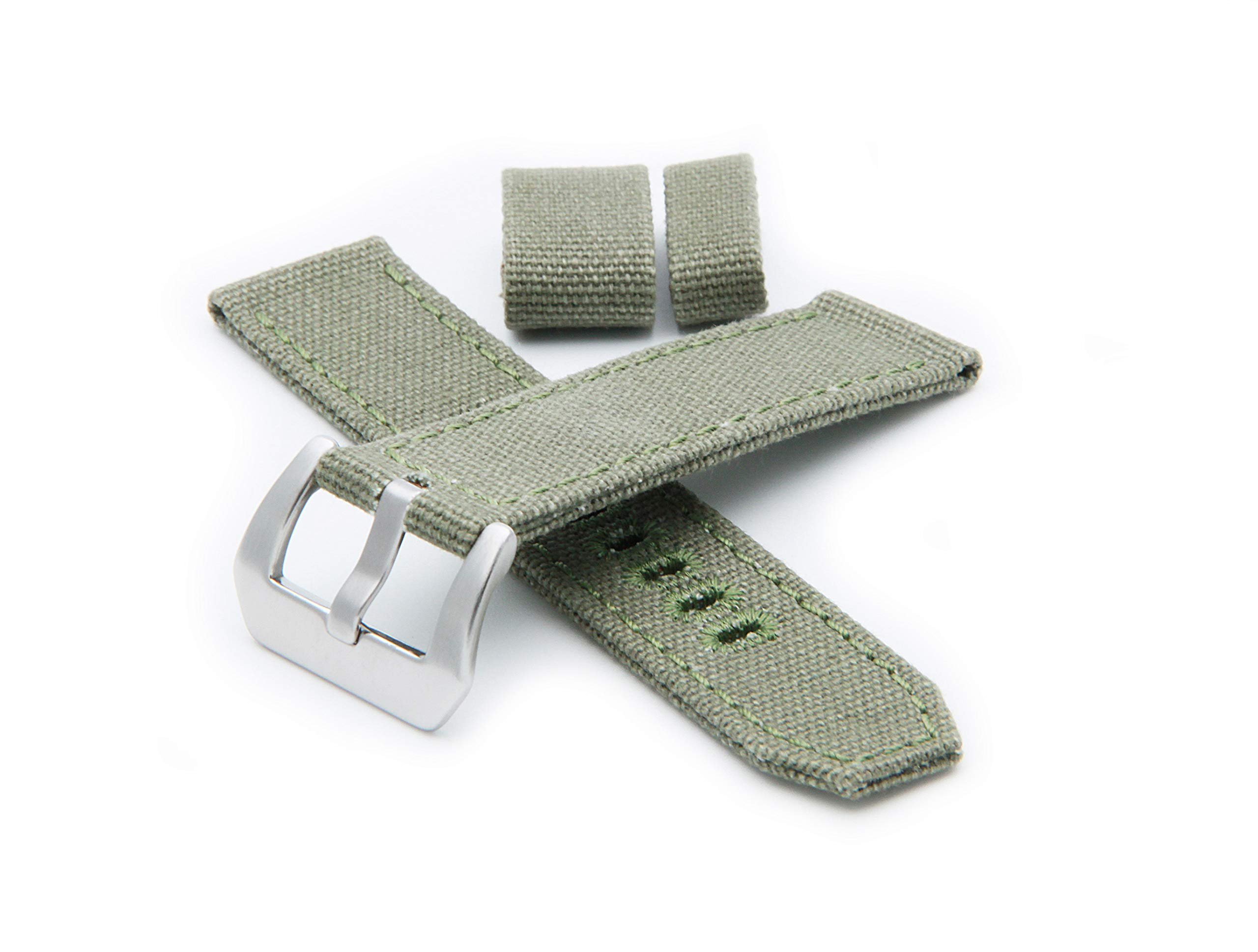 Helm Watches CS1 Canvas Strap - Green (22mm)