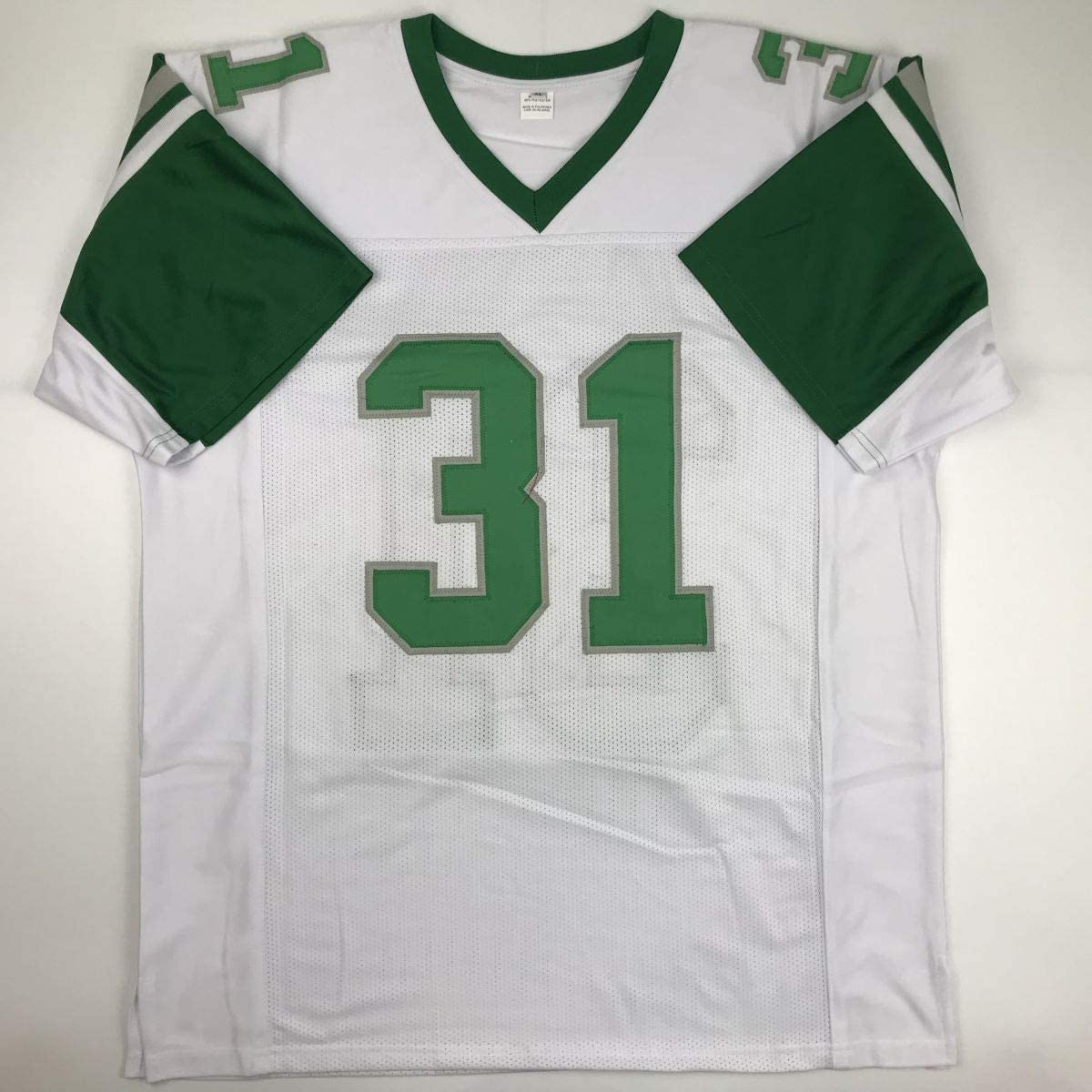 Autographed//Signed Wilbert Montgomery Inscribed Philadelphia White Football Jersey PSA//DNA COA