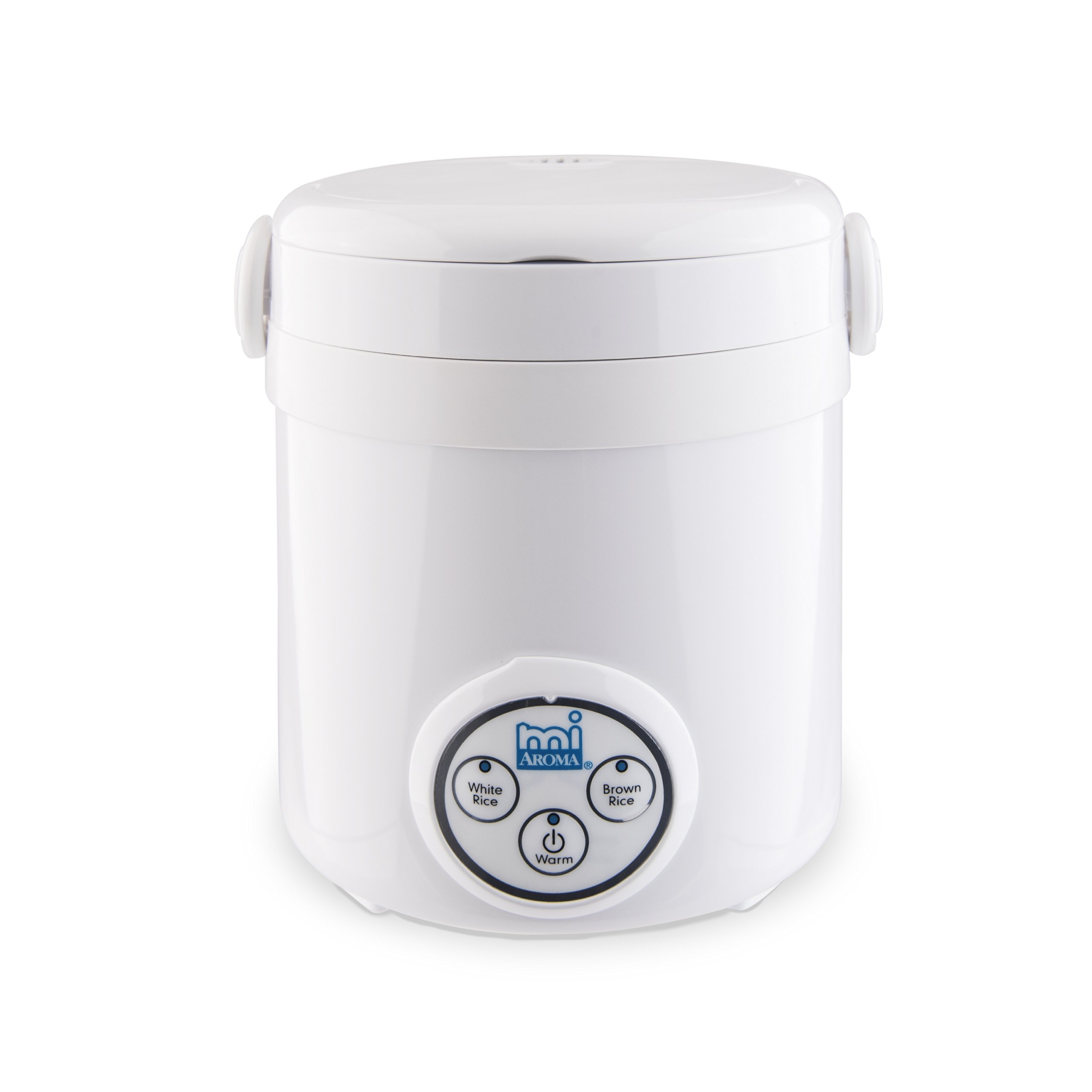Aroma Housewares Mi 3-Cup (Cooked) (1.5-Cup UNCOOKED) Digital Cool Touch Mini Rice Cooker by Aroma Housewares