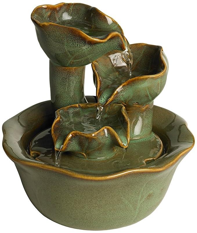 Amazon.com: Organic Water Lily Ceramic 8\