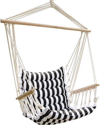 UHOM Hanging Hammock Swing Chair Patio Seat